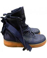 Nike SF Air Force 1 sneakers - Bleu