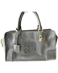 Loewe Amazona Leder Handtaschen - Braun