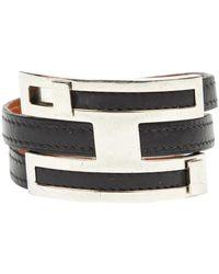 Hermès Leder Armbänder - Schwarz