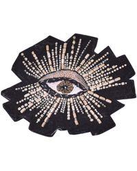 Isabel Marant Black Faux Fur Pins & Brooches