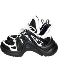 Louis Vuitton Archlight Black Cloth Sneakers