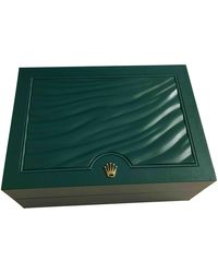 Rolex Oyster Perpetual 39mm Uhren - Grün