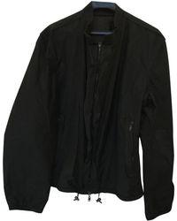 Lanvin Navy Synthetic Jacket - Black