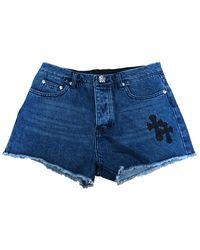 Chrome Hearts Blue Denim - Jeans Shorts