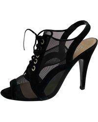 Chanel Tacones - Negro