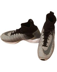 Nike Air Zoom Spiridon Leinen Sneakers - Mehrfarbig
