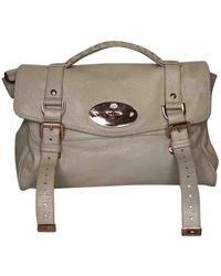Mulberry Alexa White Leather Handbag