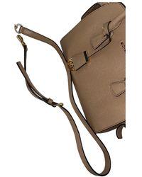 Michael Kors Beige Leather Handbag - Natural