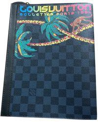 Louis Vuitton Voyage Bag - Blue