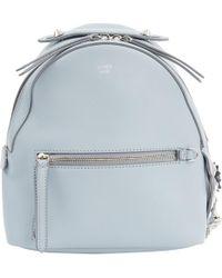 ff6841476e4d Lyst - Fendi Mini Backpack Mini Backpack in Gray