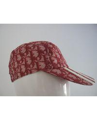Dior - Red Cotton - Lyst