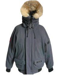 Canada Goose Wolle Jacken - Grün