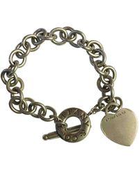 Tiffany & Co. - Pre-owned Return To Tiffany Silver Silver Bracelets - Lyst