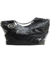 2998c7506a5319 Chanel Coco Cocoon Small Tote Bag Nylon Leather Black in Black - Lyst