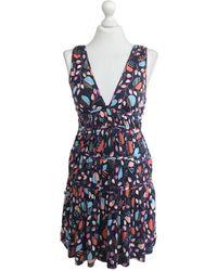 Marc Jacobs Silk Mini Dress - Blue