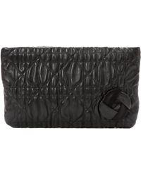 Dior - Black Leather Clutch Bag - Lyst