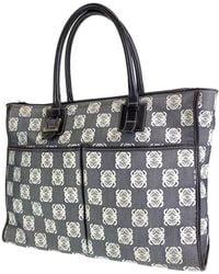 Loewe Gray Cotton Bag