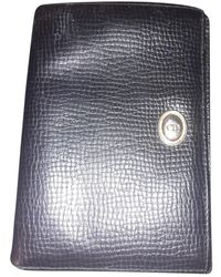 Dior Leder Portemonnaies - Schwarz