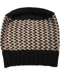 Missoni Sombrero en lana multicolor - Negro