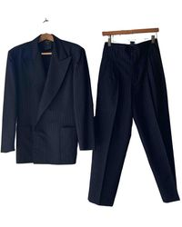 Jean Paul Gaultier Wool Suit - Blue