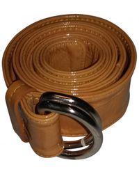 Moschino Leder Gürtel - Mehrfarbig