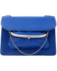 Maison Margiela - Blue Leather Handbag - Lyst