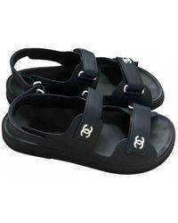 Chanel Dad Sandals Sandal - Blue