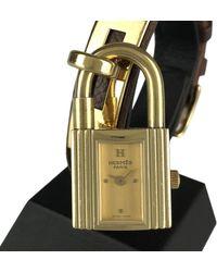 Hermès Kelly Uhren - Mettallic