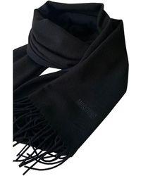 Moschino Wool Scarf - Black