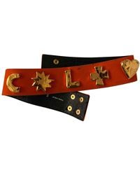 Christian Lacroix Belt - Orange