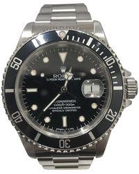 Rolex Reloj en acero plateado Submariner - Multicolor