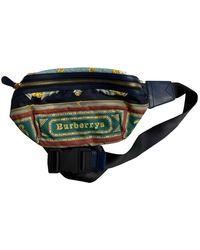 Burberry Bum Bag Cloth Bag - Multicolour