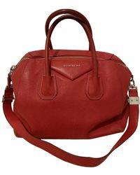 Givenchy Antigona Leder Handtaschen - Rot