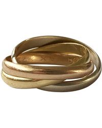 Cartier Trinity Yellow Gold Ring - Metallic