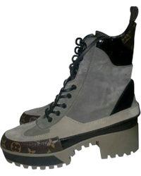 Louis Vuitton - Laureate Geschnürt Boots - Lyst