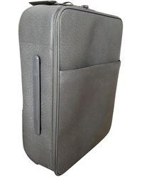 Louis Vuitton Pegase Leder reisetaschen - Grau