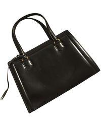 Hermès Leather Satchel - Black