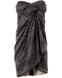 Stella Jean Jupe \N en Polyester Gris
