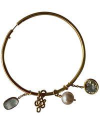 Diane von Furstenberg Multicolor Yellow Gold Earrings - Metallic