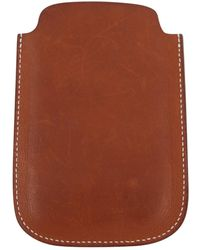 Hermès Brown Leather Purse Wallet & Case