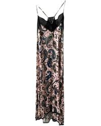 Zadig & Voltaire Spring Summer 2019 Maxi Dress - Pink