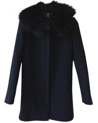 Claudie Pierlot Wool Coat - Multicolour
