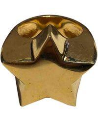 Stella McCartney Gold Metal Rings - Multicolor