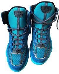 MCM High Sneakers - Blue