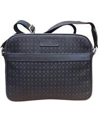 Ferragamo - Black Cloth Travel Bag - Lyst