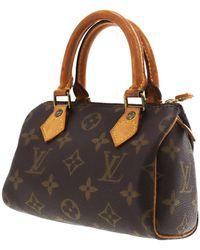 Louis Vuitton Nano Speedy / Mini HL Leinen Handtaschen - Mehrfarbig