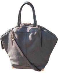 Alexander Wang Emile Gray Leather Handbag - Multicolor