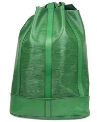 Louis Vuitton - Randonnée Green Leather - Lyst
