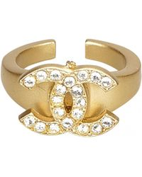 Chanel - Pre-owned Ring - Lyst
