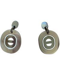 Hermès Horn Earrings - Multicolor
